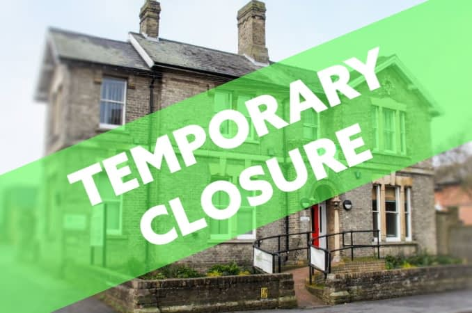 Temporary Closure after 20th March