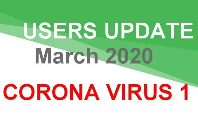 Coronavirus Update 1